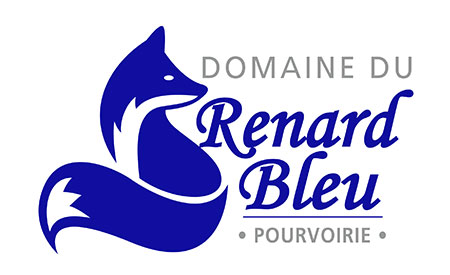 Logo - Domaine du Renard bleu
