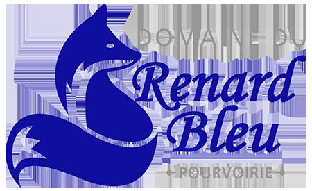 Logo Transparent - Domaine du Renard bleu